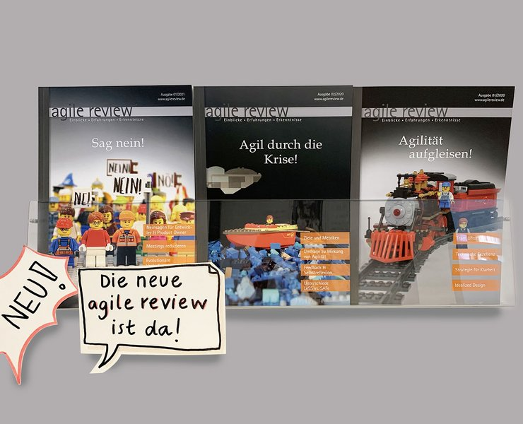 agile review Magazin
